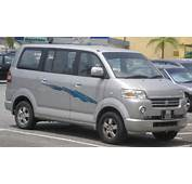 Apv Suzuki Van Description APV First Generation Front