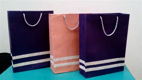 How To Make A Paper Purse For - how to make paper bag