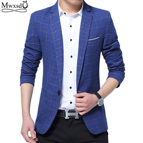 Fashion Blazer Hanako Wanita Casual mwxsd brand mens fashion blazer casual slim fit suit