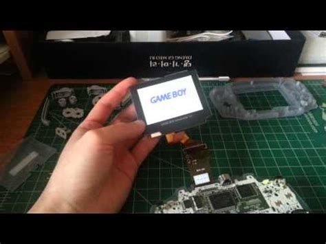 gameboy mod store gameboy advance backlight mod youtube