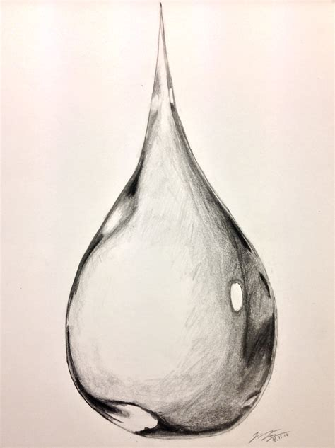 Drawing Water by Water Drop Drawing By Jonas Jaeger On Deviantart
