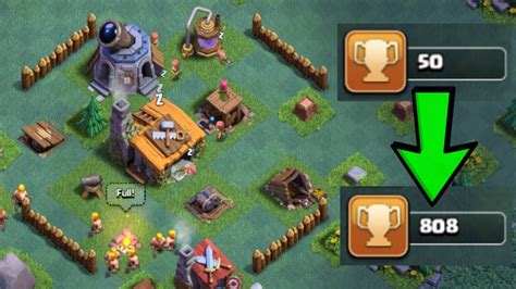 clash of clans boat best base best builder hall 2 bh2 base design in clash of clans
