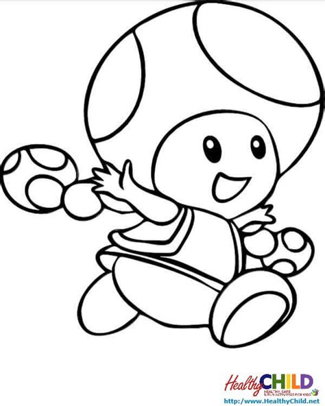 mario mushroom coloring pages free coloring pages of mario mushroom