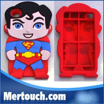 Hardcase Character Samsung S4 Superman thor silicone superman character 3d silicon animal