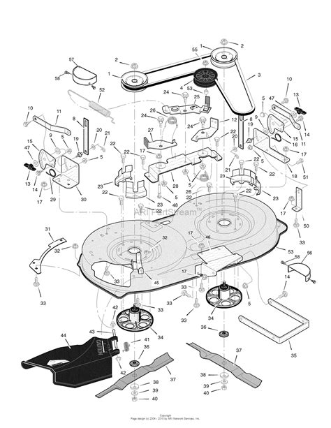 murray parts diagram murray 405012x108b rover clipper lawn tractor 2007