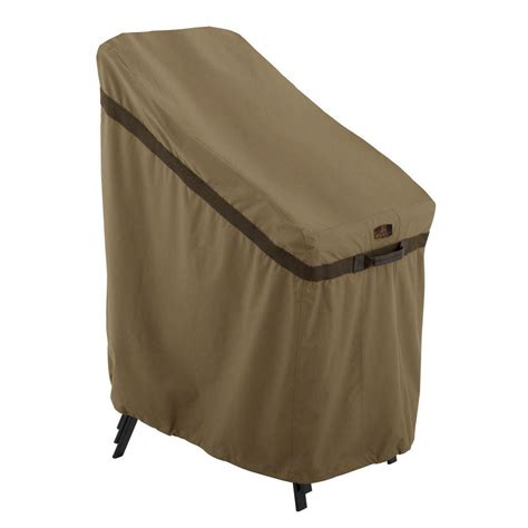 home chair cover mr bar b q 33 in x 28 in x 35 in patio chair cover