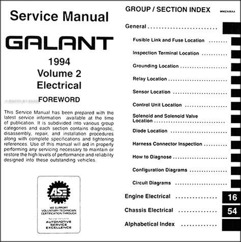 service manual 1994 mitsubishi galant engine workshop manual mitsubishi galant 1992 1993 1994 mitsubishi galant repair shop manual set original