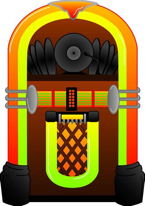jukebox clipart colorful jukebox design free clip