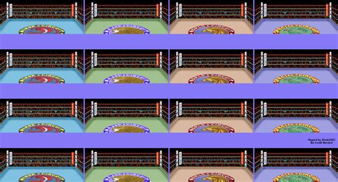 The Spriters Resource - Full Sheet View - Super Punch-Out ... C- Png