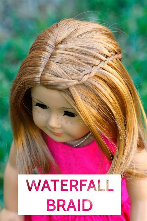 Doll Hairstyles Easy by Pin By Hultquist On American