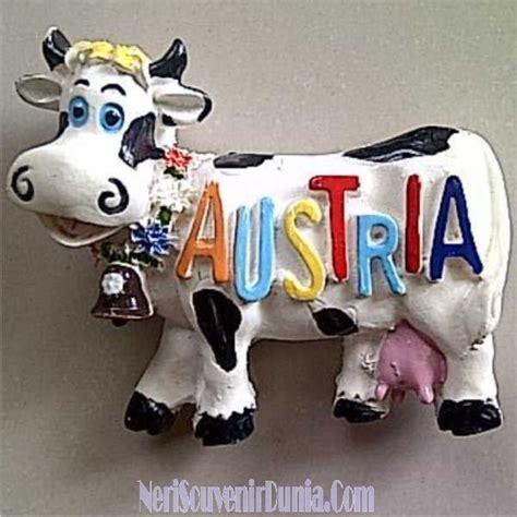 Magnet Kulkas Dari Austria jual souvenir magnet kulkas sapi austria