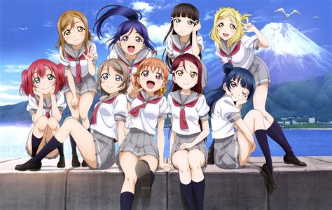 wallpaper anime love live 253 love live sunshine hd wallpapers background
