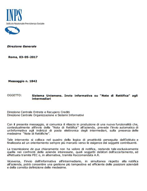 cassetto bidirezionale inps studio commerciale olivieri notifica delle quot note di