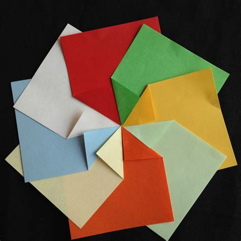 Folded Paper L - p209a origami sided folding paper 7 4cm 480sheets