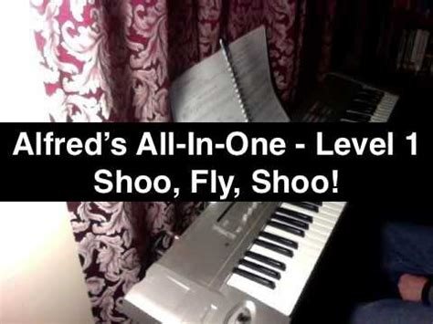 shoo fly shoo alfred s all in one 1