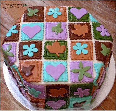 How To Quilt A Cake With A Ruler by 15 Best Images About Quilt Cakes On Cow