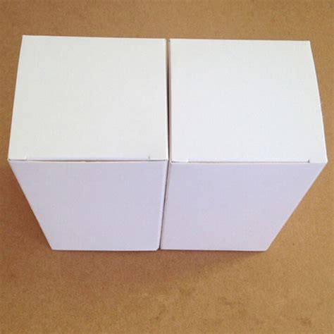 Buy Gift Cards In Bulk And Save - 8 8 10cm 20pcs lot wholesale small gift white cardboard boxes craft business card