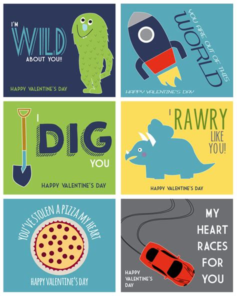 what to get boys for valentines valentines for boys printable valentines boys will