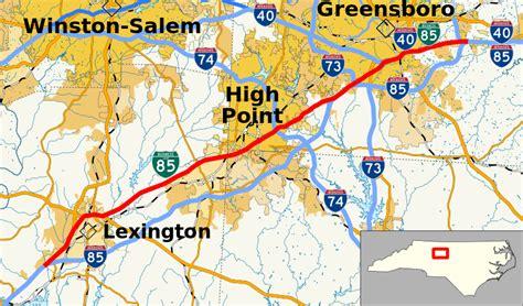 map of i 85 in carolina file interstate 85 business carolina map svg