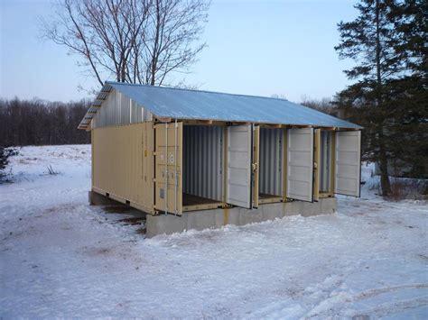storage container cabin studio design gallery best
