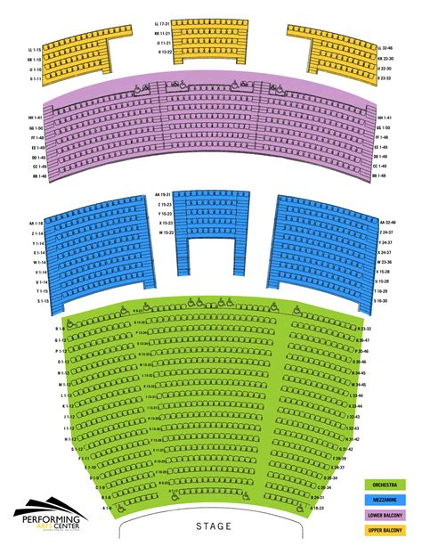 tulsa pac seating diagram what if the legacy project