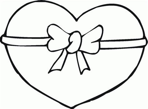 heart shape coloring pages coloring home