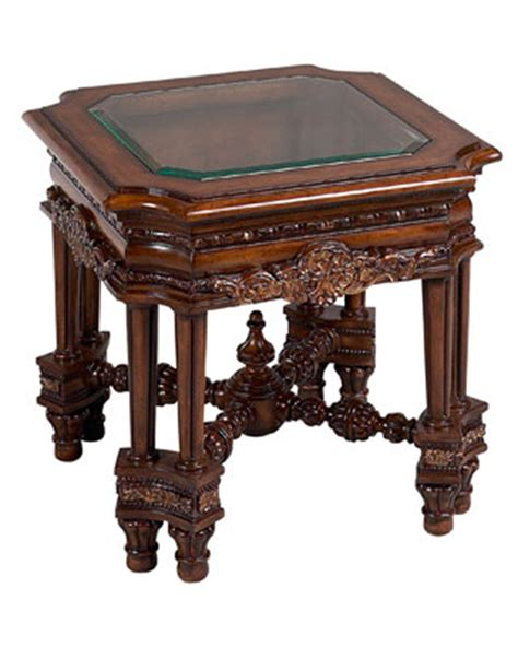 traditional end table norina by benetti s btno316