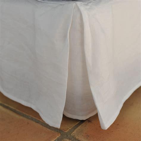 linen futon cover white linen bed base cover maison d 233 t 233