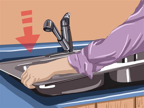 how to fix kitchen sink 4 ways to fix your kitchen sink wikihow