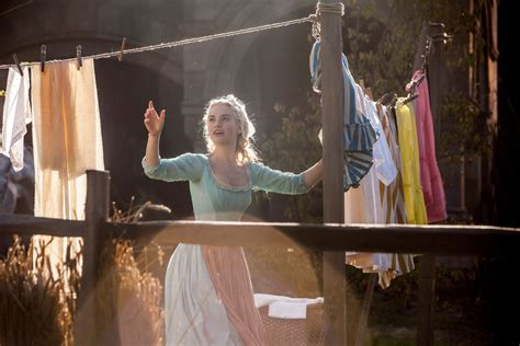 is cinderella film good 6 new cinderella images featuring lily james collider