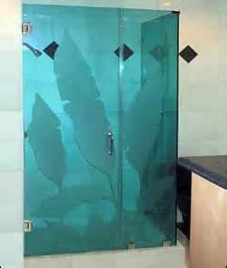 green s glass amp screen shower doors decorative glass