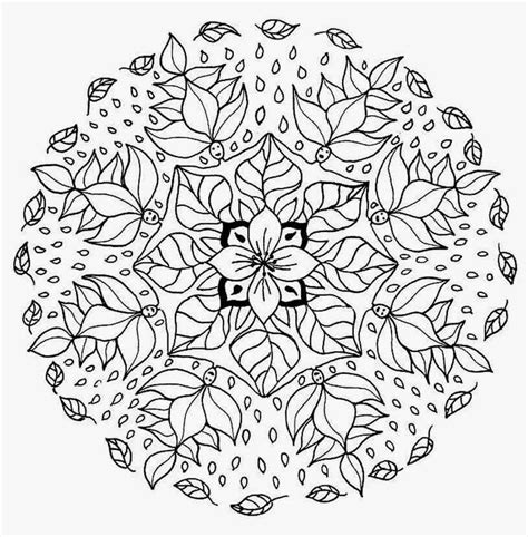 Fall Mandala Coloring Pageskids Coloring Pages Fall Mandala Coloring Pages