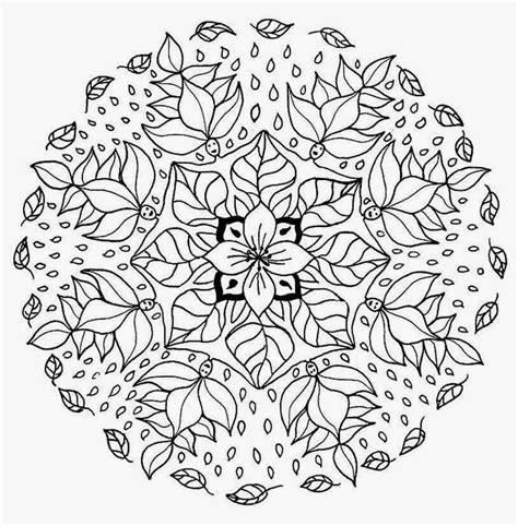 Fall Mandala Coloring Pages Free Download Fall Mandala