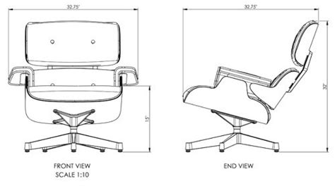 Eames Lounge Chair Measurements by Best Of Eames Lounge Chair Dimensions The Ignite Show