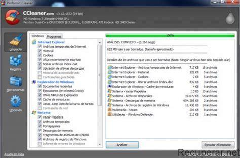 ccleaner que hace 191 cu 225 les son los mejores programas para eliminar archivos