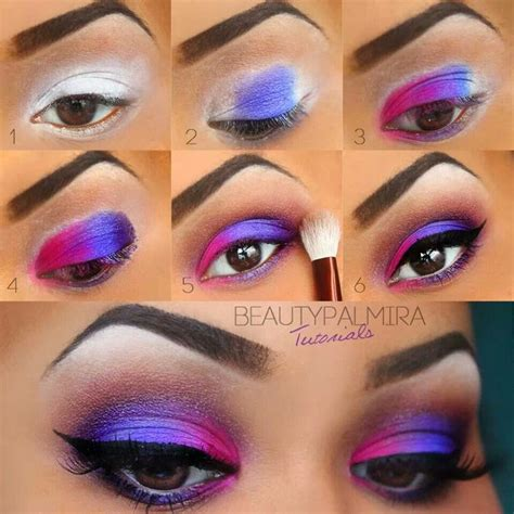 berbagai step by step tutorial eyeshadow natural vemale com 25 best ideas about 80s eye makeup on pinterest