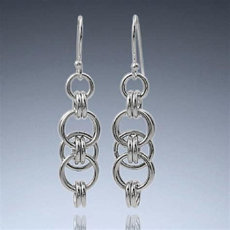 Handmade Metal Earrings - handmade silver jewelry earrings made earrings