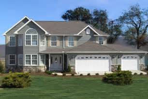 two story home featured two story home plan ashland