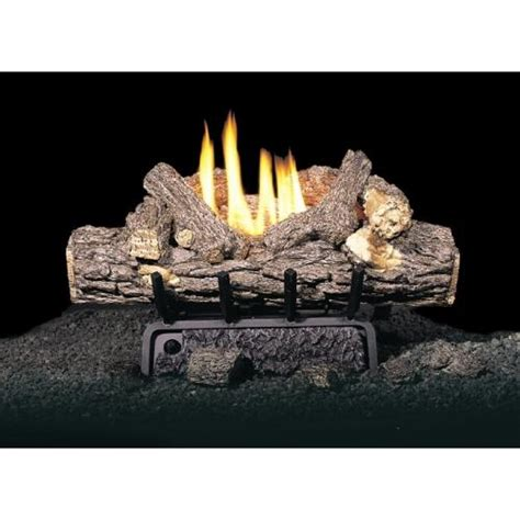 real fyre 20 quot valley oak ventless propane gas logs set