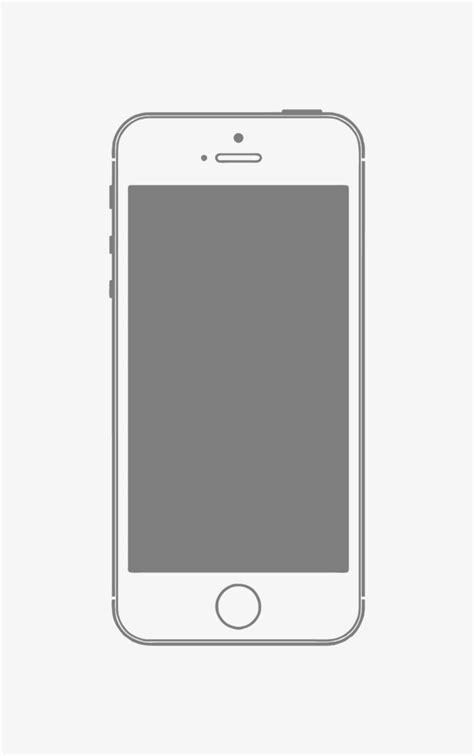 Iphone In Frame vector iphone mobile phone frame material vector mobile
