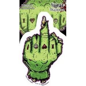 zombie tattoo finger pin robe zombie tattoo on pinterest