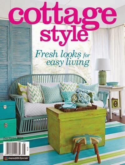 flea market trixie cover of cottage style magazine