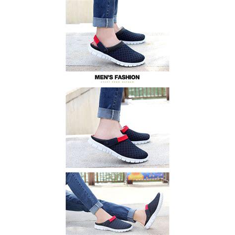 Sepatu No 38 sepatu sandal slip on santai pria size 38