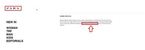 zara printable job application how to apply for zara jobs online at zara com careers