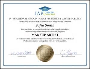 become a licensed makeup artist makeup artist certificate course