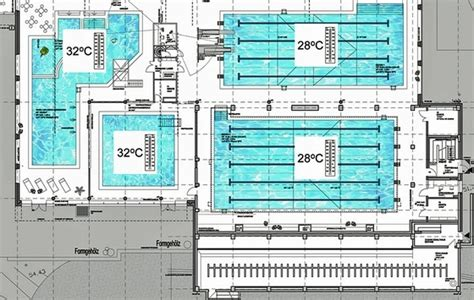 Floor Plans Of My House world s first passivhaus public pool opens in l 252 nen