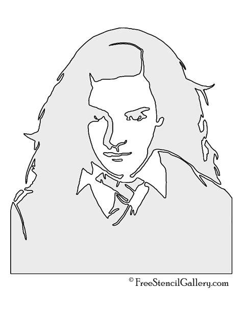 printable harry potter pumpkin stencils hermione granger stencil free stencil gallery