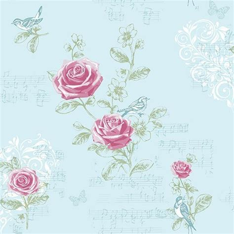 shabby chic wallpaper ideas wren shabby chic wallpaper the shabby chic guru