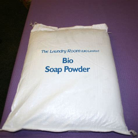 P O Powder M B K the laundry room uk ltd laundry powder bio