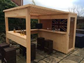 build a backyard bar best 25 outdoor bars ideas on pinterest